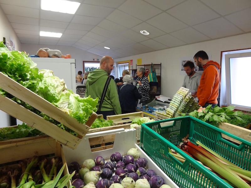 Inauguration du magasin bio et local de l'Inventerre du Pré Vert