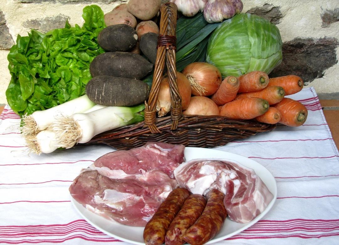 viandes et legumes